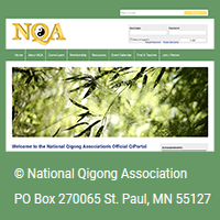 National Qigong Association logo
