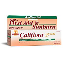 Calendula gel for cuts scrapes skin infections