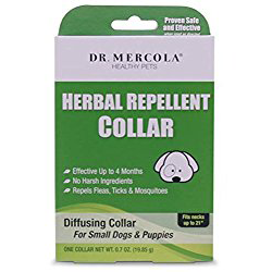 Dr Mercola Herbal Repellent Collar For Small Dogs