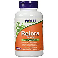NOW Relora 300 mg 120 Veg Capsules