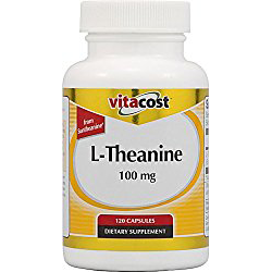 Vitacost L-Theanine from Suntheanine